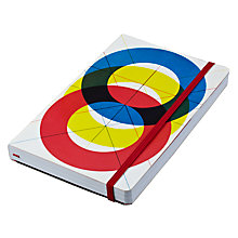 Buy Eames House Of Cards Circles A5 Notebook Online at johnlewis.com