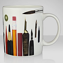Buy Eames House Of Cards Pens & Pencils Mug Online at johnlewis.com