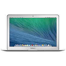 "Buy Apple MacBook Air, Z0NZ6B/A, Intel Core i5, 128GB Flash Storage, 8GB RAM, 13.3"" Online at johnlewis.com"