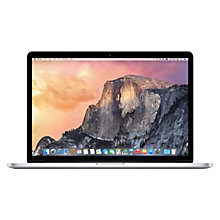 "Buy Apple MacBook Pro with Retina Display, ME293B/A, Intel Core i7, 256GB SSD, 8GB RAM, 15.4"" + Microsoft Office 365 Personal Online at johnlewis.com"