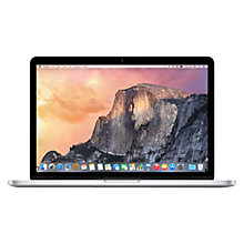 "Buy Apple MacBook Pro with Retina Display, ME864B/A, Intel Core i5, 128GB Flash Storage, 4GB RAM, 13.3"" Online at johnlewis.com"