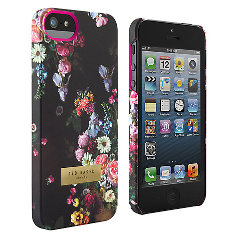 Buy Ted Baker Tanalia Floral Oil Painting Print Case for iPhone 5 & 5s Online at johnlewis.com