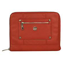 Buy Knomo Leather Zip Sleeve for 2nd, 3rd & 4th Generation iPad Online at johnlewis.com