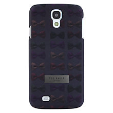 Buy Ted Baker Printed Galaxy S4 Case, Bowtie Online at johnlewis.com