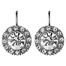 Buy Dyrberg/Kern Campbell Crystal Surround Drop Earrings Online at johnlewis.com