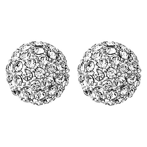 Buy Dyrberg/Kern Gianda Round Crystal Stud Earrings Online at johnlewis.com