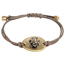 Buy One Button Fairytale Hematite Frog Friendship Bracelet Online at johnlewis.com