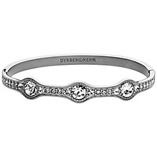 Buy Dyrberg/Kern Egynes Silver Swarovski Bangle Online at johnlewis.com