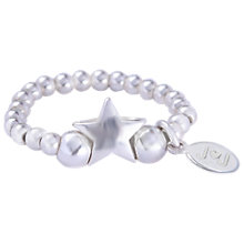 Buy Joma Celeste Silver Star Stretch Ring Online at johnlewis.com