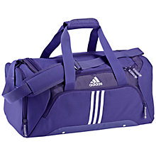 Buy Adidas 3 Stripes Essentials Small Team Bag Online at johnlewis.com
