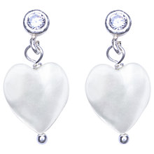 Buy Joma Lola White Mother of Pearl Crystal Stud Earrings Online at johnlewis.com