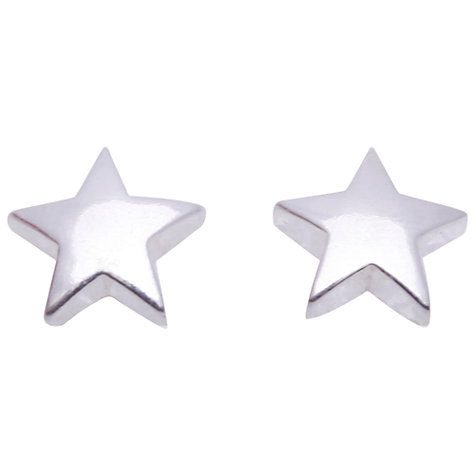 Buy Joma Flo Silver Plated Large Star Stud Earrings Online at johnlewis.com