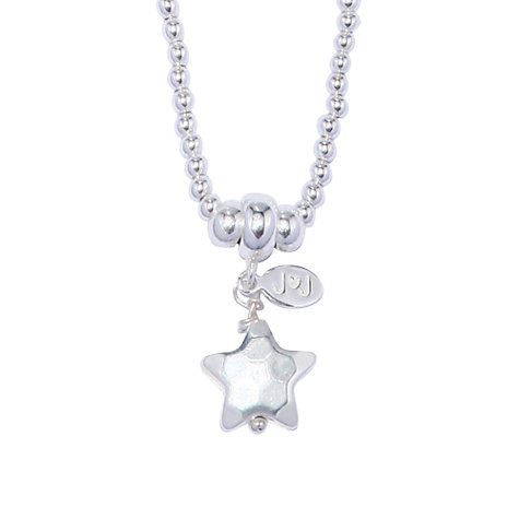 Buy Joma Mimi Silver Textured Star Pendant Online at johnlewis.com