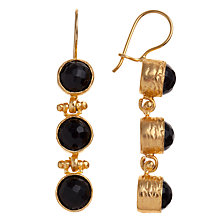 Buy Ottoman Hands Leyla 3 Stone Drop Earrings Online at johnlewis.com