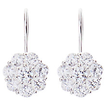 Buy Joma Silver Plated Crystal Drop Earrings Online at johnlewis.com