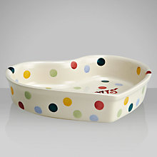 Buy Emma Bridgewater Christmas Polka Dot Heart Baker Online at johnlewis.com