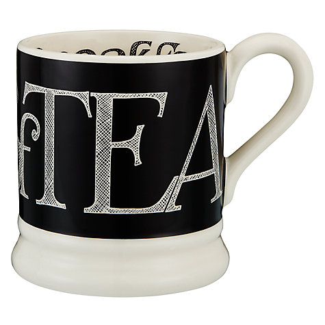 Buy Emma Bridgewater Black Toast Half Pint Mug Online at johnlewis.com