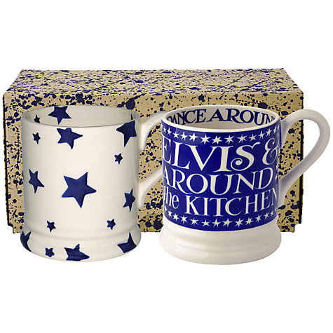 Buy Emma Bridgewater Stars and Elvis Mugs Online at johnlewis.com