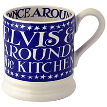 Buy Emma Bridgewater Blue Stars and Elvis Mug Online at johnlewis.com