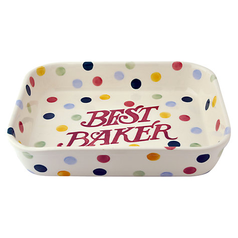 Buy Emma Bridgewater Christmas Polka Dot Baker Online at johnlewis.com