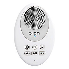 Buy ION Sound Splash Bluetooth Waterproof Speaker, White Online at johnlewis.com