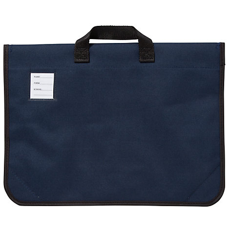 Buy Thomson House School Unisex Book Bag, Navy Blue Online at johnlewis.com