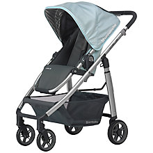 Buy Uppababy Cruz Pushchair, Tyler Light Blue Online at johnlewis.com