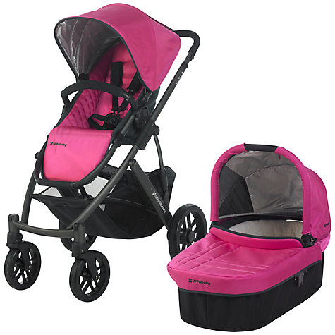 Buy Uppababy Vista Pushchair, Olivia Pink Online at johnlewis.com