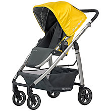 Buy Uppababy Cruz Pushchair, Sydney Yellow Online at johnlewis.com