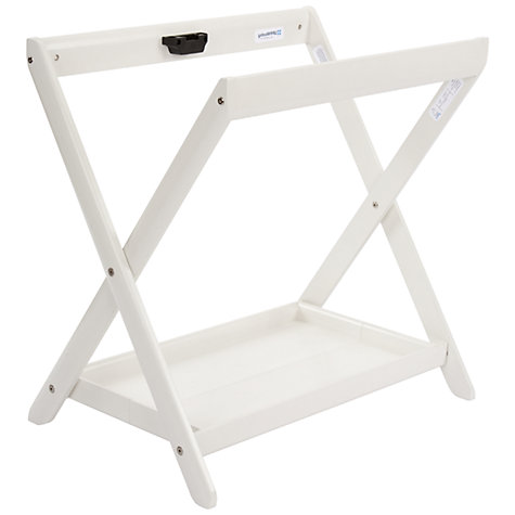 Buy Uppababy Vista Carrycot Stand, White Online at johnlewis.com