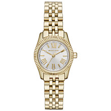 Buy Michael Kors MK3229 Women's Lexington Stainless Steel Watch, Gold Online at johnlewis.com