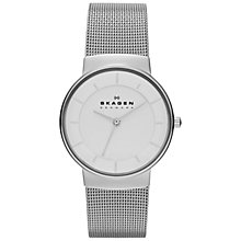 Buy Skagen Women's Klassik Steel Mesh Bracelet Strap Watch Online at johnlewis.com