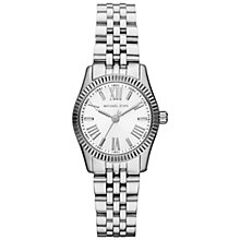 Buy Michael Kors MK3228 Lexington Women's Stainless Steel Bracelet Watch, Silver Online at johnlewis.com