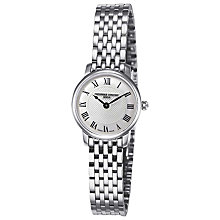 Buy Frederique Constant FC-200MCS6B Women's Slim Line Mini Silver Bracelet Strap Watch Online at johnlewis.com