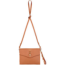 Buy Modalu Dickens Flap Over Cross Body Handbag, Camel Online at johnlewis.com