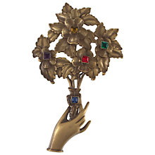 Buy Eclectica Vintage 1950s Joseff of Hollywood Bunch of Flowers Brooch, Multi Online at johnlewis.com