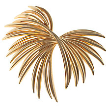 Buy Eclectica 1960s Grosse Gold Plated Spray Brooch Online at johnlewis.com