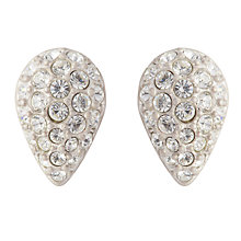 Buy Susan Caplan Vintage Bridal 1990s Swarovski Crystal Teardop Clip-On Earrings Online at johnlewis.com