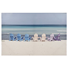 Buy Pacific Life Deck Chairs Outdoor Canvas, 60 x 90cm Online at johnlewis.com