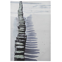 Buy Pacific Lifestyle Sand And Shadow Outdoor Canvas, 90 x 60cm Online at johnlewis.com