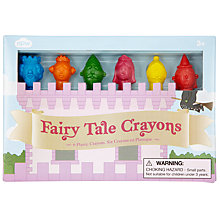 Buy Natural Products Fairy Tale Crayons, Set of 6 Online at johnlewis.com