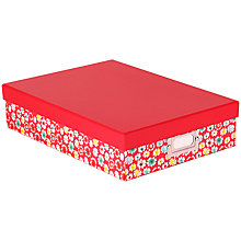 Buy John Lewis Wildflower Box File Online at johnlewis.com