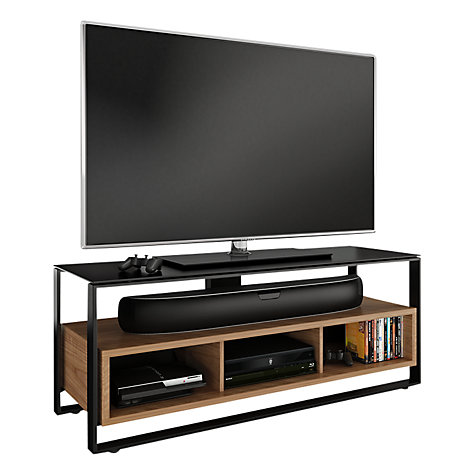 "Buy BDI Sonda 8656 TV Stand for TVs up to 60"", Natural Walnut Online at johnlewis.com"