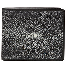 Buy Oliver Sweeney Benson Stingray Wallet, Black Online at johnlewis.com
