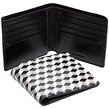 Buy Oliver Sweeney Tesselate Leather Wallet, Black/White Online at johnlewis.com