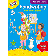 Buy Galt Handwriting Activity Book Online at johnlewis.com