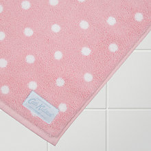 Buy Cath Kidston Large Spot Bath Mat, Pink Online at johnlewis.com