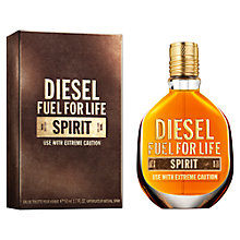 Buy Diesel Fuel for Life Spirit for Men Eau de Toilette Online at johnlewis.com