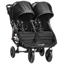 Buy Baby Jogger City Mini GT Double Pushchair, Black Online at johnlewis.com