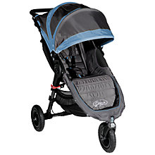 Buy Baby Jogger City Mini GT Pushchair, Blue Online at johnlewis.com